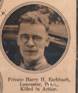 ESCHBACH Harry Lancaster PA