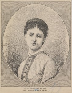Edna Dean Proctor. Photograph from Print Collection, Miriam and Ira D. Wallach Division of Art, Prints and Photographs, NYPL Digital Collections.