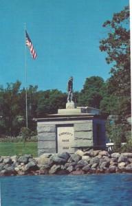 Endicott Rock monument