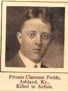 FIELDS Clarence Ashland KY