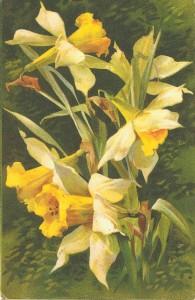 Victorian Spring postcard