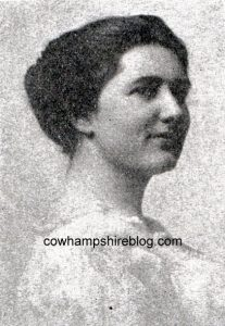 Photograph of Lucy N. Fletcher from One Thousand New Hampshire Notables, 1919