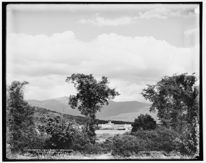 The Fabyan House and Mt. Washington, White Mountains, c1900; Library of Congress Prints and Photographs Division