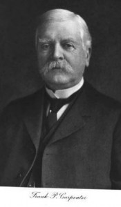 Frank P. Carpenter, son of David M. & Mary (Perkins) Carpenter. Merchant, manufacturer and Banker, born Chichester NH, resided Manchester NH.