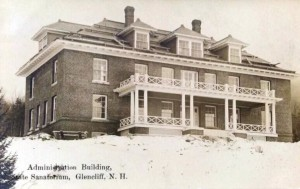 Sanitorium at Glencliff, New Hampshire