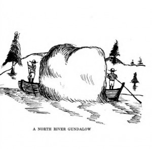 From Old Time anecdotes of the North River and the South Shore by Joseph Foster Merritt, 1928