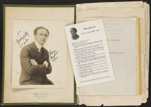 A page from Harry Houdini's Scrapbook
