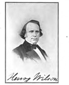 Photograph of Henry Wilson, from book, New Hampshire Biography and Autobiography by F.B. Sanborn, July 1906, page 75