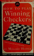 How to win at checkers millard hopper book cover