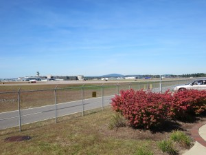 Manchester-Boston Airport from the NH Aviation Museum