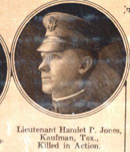 JONES Hamlet P Kaufman TX