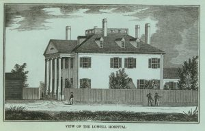The Lowell Corporation Hospital opened in 1867.