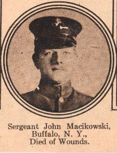 MACIKOWSKI John Buffalo NY