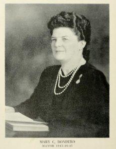 Mary C Dondero Mayor of Portsmouth NH