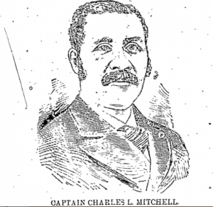 Charles L. Mitchell, husband of Nellie (Brown) Mitchell