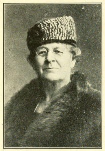 Mrs. Emma L. Bartlett (1859-1933) one of the early women legislators of NH and the first chairperson.