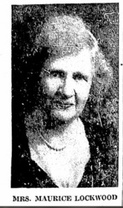 1967 Photograph of Elena M. (Crouch) Lockwood from her printed obituary.