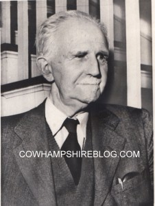 Roger Babson in 1947.