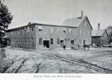 Rolfe's Sash and Door Manufactory