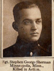 SHERMAN, Stephen George Minneapolis MN