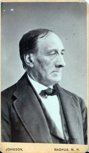 Alfred Spalding of Merrimack and Nashua NH. He was the son of Silas and Betsy (Hills) Spaulding. (1806-1887)