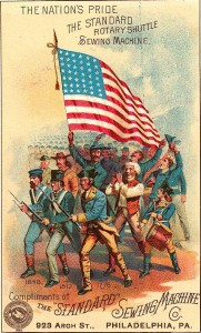 another antique 4th of July Card