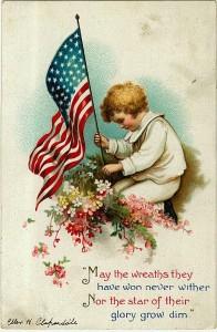 2d Decoration Day postcard