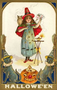witch victorian halloween
