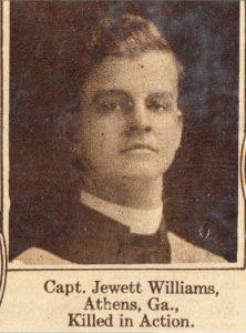 WILLIAMS Jewett Athens GA