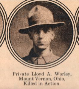 WORLEY Lloyd Mount Vernon Ohio