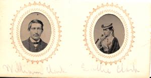 Siblings: William Clark, and Sallie Clark of Londonderry NH