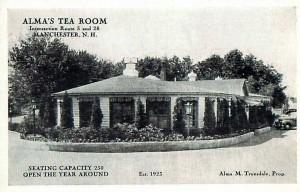 almas tea room