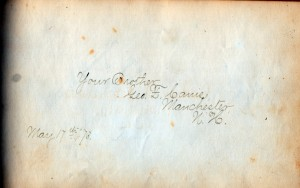 brother george canis autograph 2