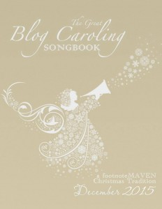 great blog caroling songbook 2015 logo