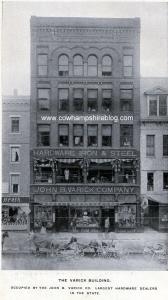 John B. Varick Co., Elm Street, Manchester NH from a 1903 booklet.