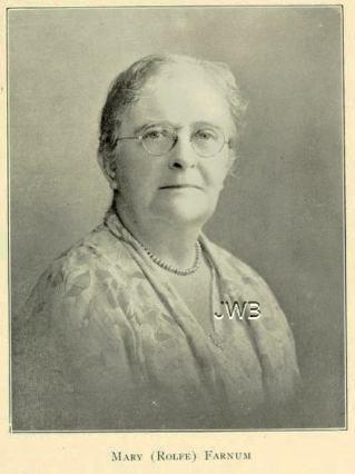 Dr. Mary L. (Rolfe) Farnum