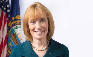 Maggie Hassan, Governor of NH and soon to be sworn in as U.S. State Senator.