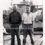 w0091 – crew yms245 dad on right Jan46 Shanghai China