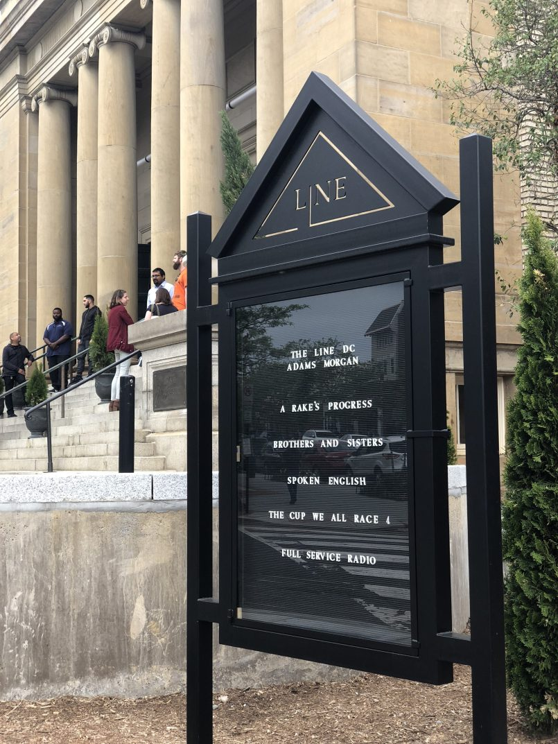 Entrance to LINE DC