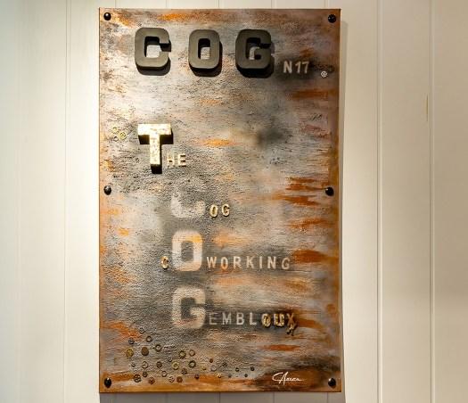 le hall du COG Coworking Gembloux