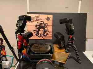 Bob Marley Burnin Album Cover – Behind the Shot