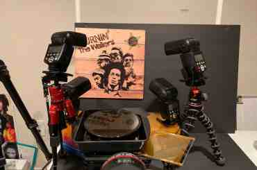 Bob Marley Burnin album setup