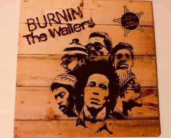 Bob Marley Burnin Album Cover