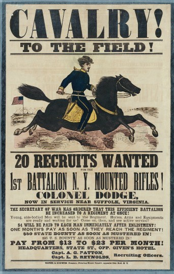 Recruiting_poster_New_York_Mounted_Rifles