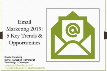 Email Marketing 2019 – 5 Key Trends and Opportunities