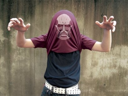 Le T-shirt Attack on Titan