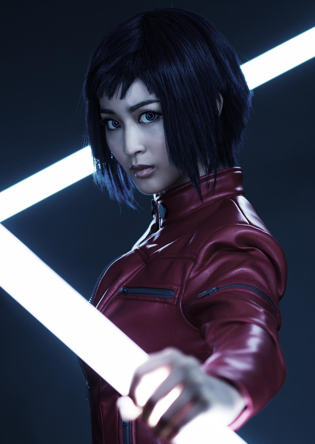 Motoko Kusanagi joué par Kaede Aono