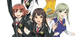 School Girl Strikers en simulcast sur Crunchyroll