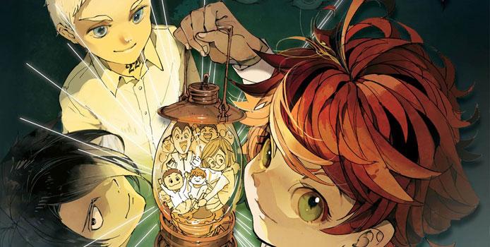 Le manga The Promised Neverland publié chez Kazé en avril 2018
