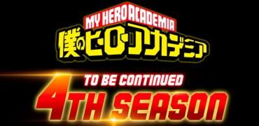 Une saison 4 est déjà annoncée pour My Hero Academia